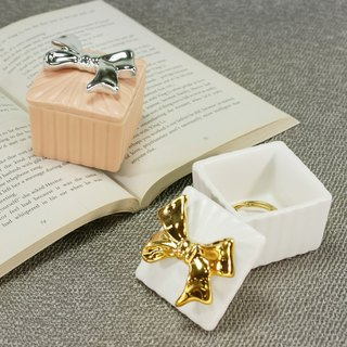 [ChouChou Lista] Japanese ribbon gift box modeling storage box