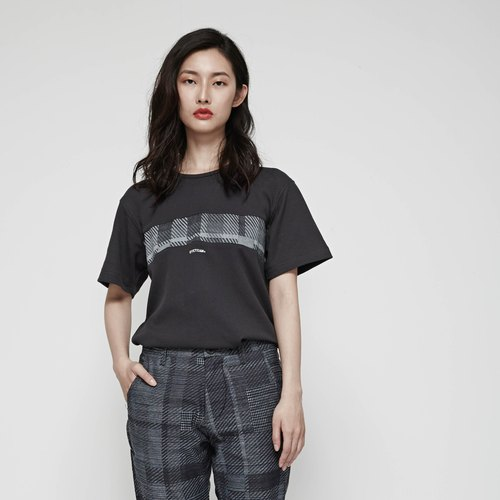 DYCTEAM - Denim Stitching Tee