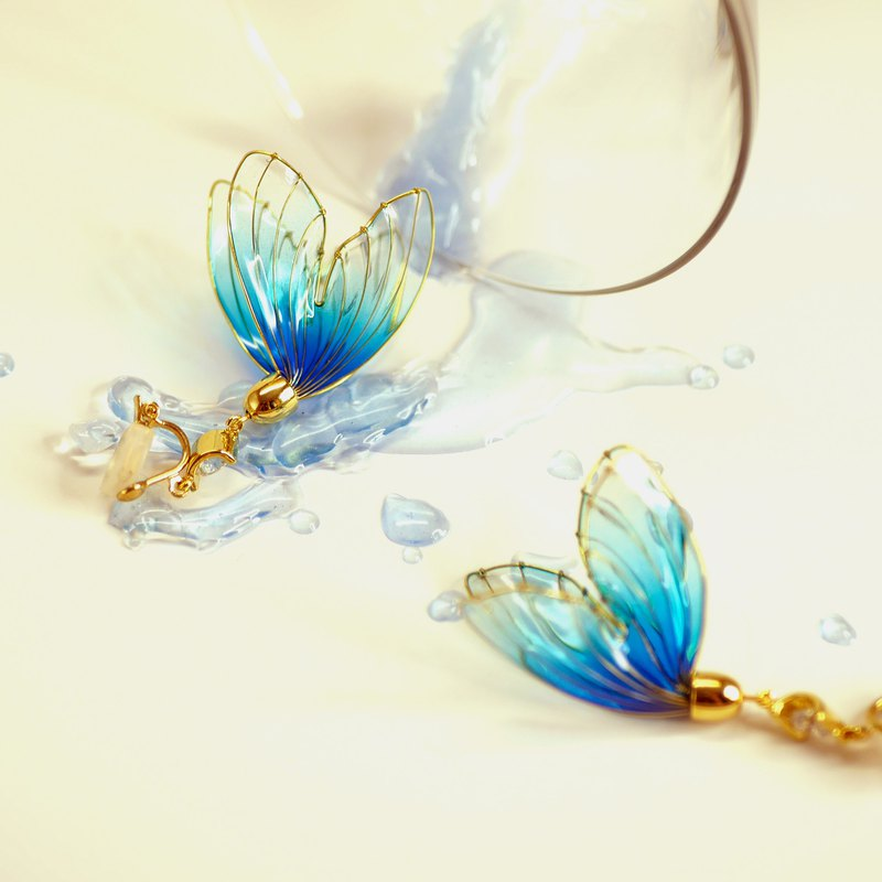 Summer Festival Goldfish Dream - Blue Fishtail