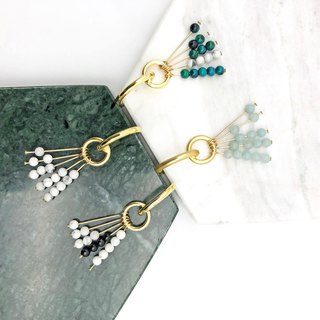 Elegant Amazonite 14kgf  Earrings【Christmas Gift】【gift for her】【Natural stones】