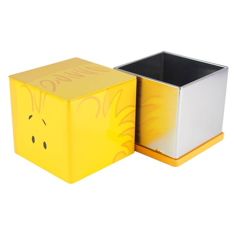 Snoopy tin storage box - Woodstock [Hallmark-Peanuts Snoopy storage]