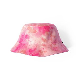 Ink peach rendering double-sided fisherman hat