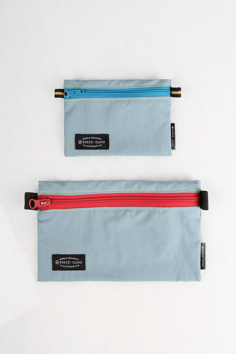 Multi-use Water-Repellent Pouch - Light Blue