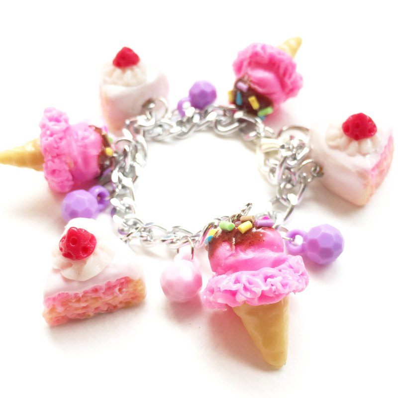 sweetcake icecream Bracelet