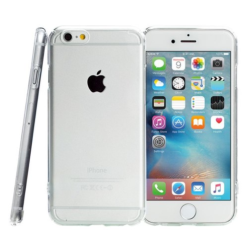 SIMPLE WEAR FORTIFY Enhanced Clear [Hard] Anti-scratch Case for Apple iPhone X (4716779658583)