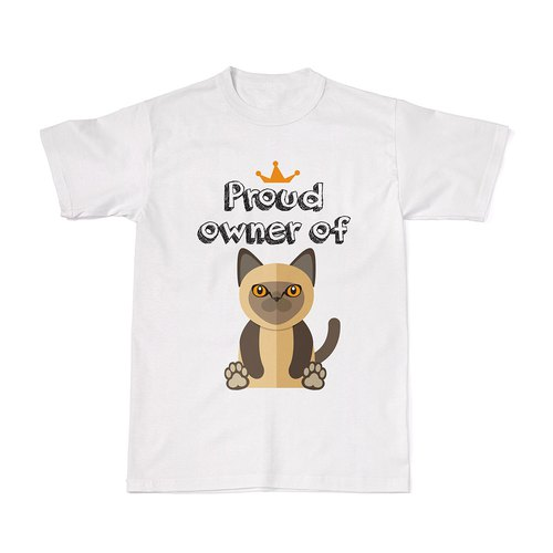 Proud Cat Owners Tees - Burmese Cat