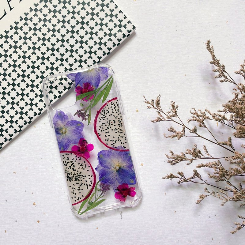 Summer Style│ Embossed Phone Case│ Real Flower Phone Case