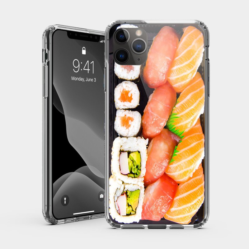 Sushi IPHONE impact resistant protective shell kuso food simulation mobile phone case IP0150