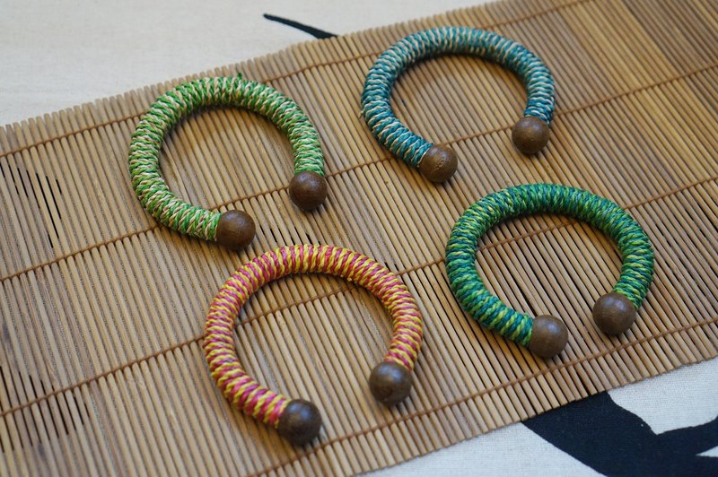 EARTH.er │● Natural Banana Trees Fiber Bracelet ● │#S-4