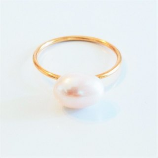 14kgf*BIG fresh water pearl ring  #10