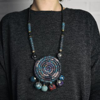 Elegant handmade neckless, unique beaded necklaces design collection #8