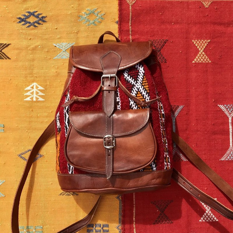 Moroccan Amazigh Kilim Backpack