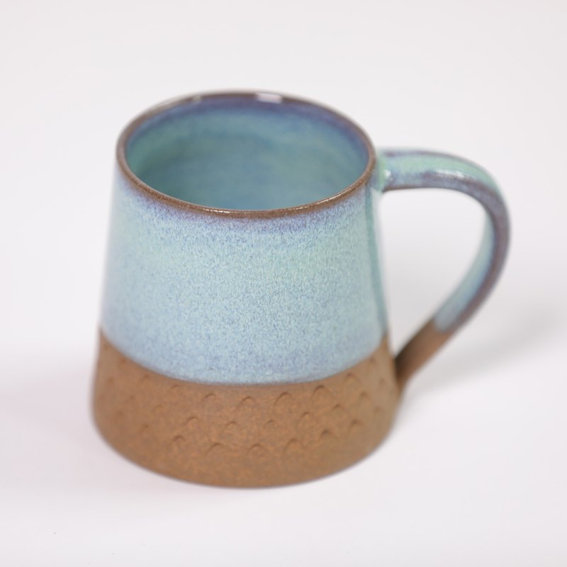 Triangle cone Cone Mug - Galaxy Blue - Fair Trade