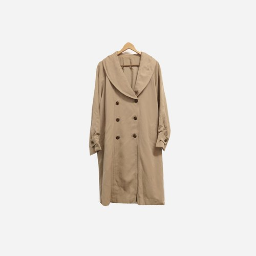 Dislocation vintage / double-breasted long coat no.299 vintage