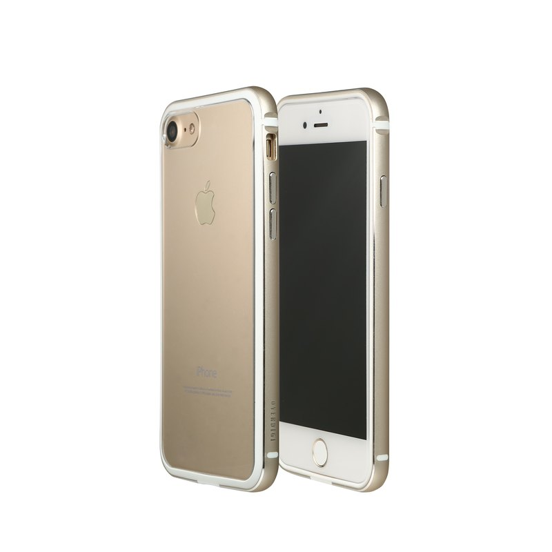 OVERDIGI LimboX iPhone7 / 8 double aluminum alloy frame gold