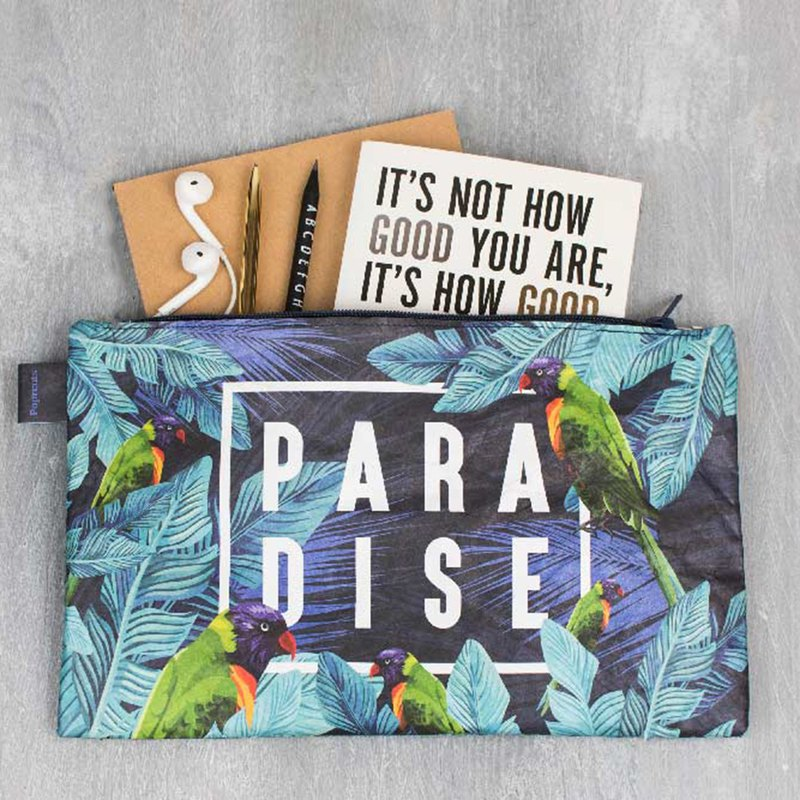 German Paprcuts.de File Bag (Bird of Paradise)