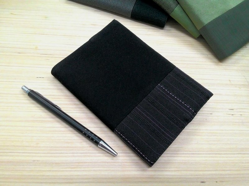 Junior A6 clothes - black cloth book (the only commodity) B04-024