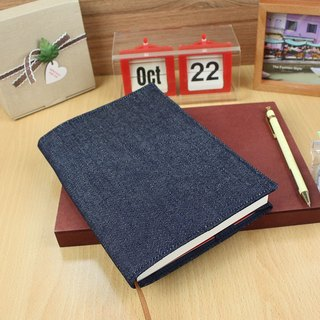 B6 / 32K adjustable denim clothing / multi-function book cover