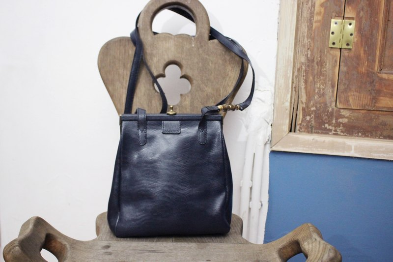 B147 [Vintage Bag] (Made in Italy) UNICA By MIRAMARE Made in Italy