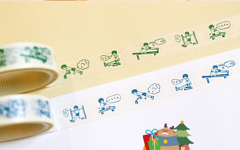 【Murmurs from Annoying Kid / Mini Story Washi Tape - 2 per pack】
