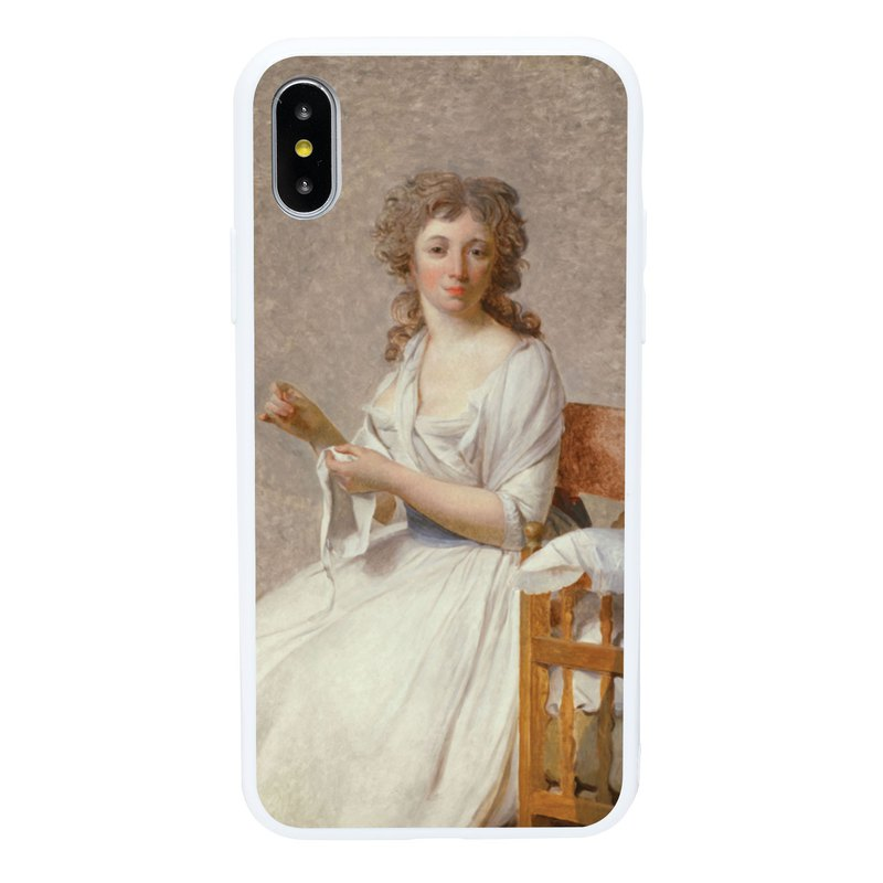 Lady Portrait iPhone 6 7 8 Plus X XS XR XSmax Phone Case