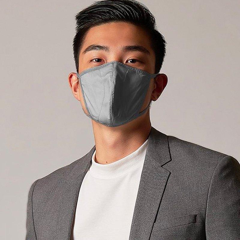 香港 MasKolor PRO   Charcoal 熔岩灰 抗菌口罩 可重复水洗30次