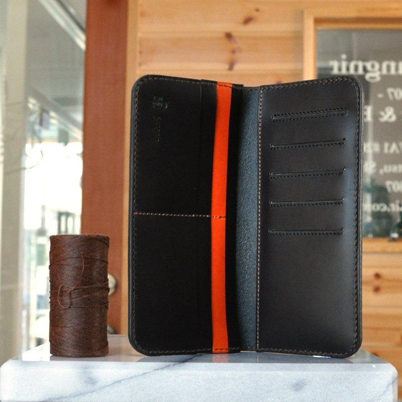 No.1 Butero, a wallet with a card and bill