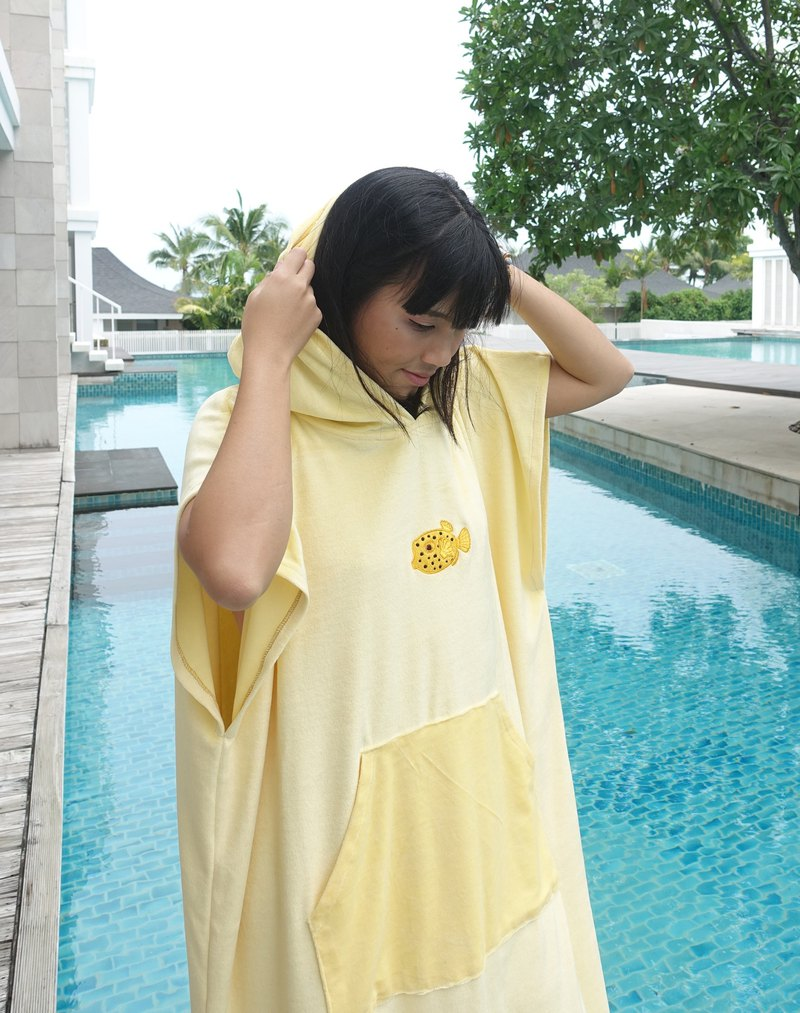 Boxfish Hood Towel