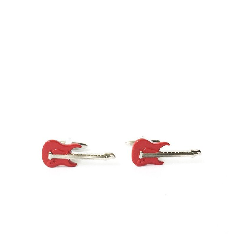 Music Electric Guitar Cufflinks Music Electric Guitar Cufflink