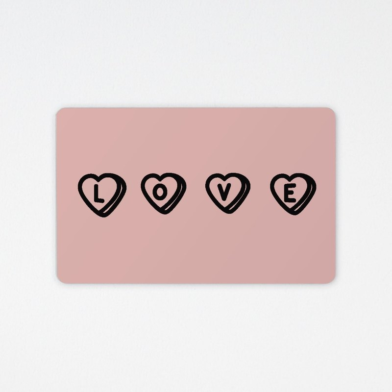 LOVE | chip card (non-card)