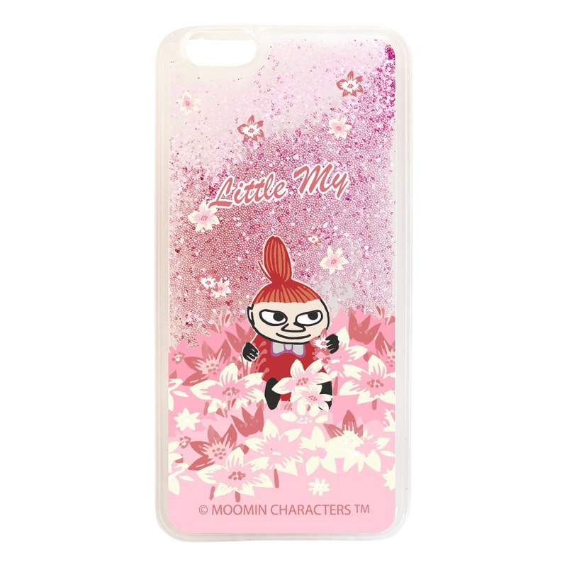 Moomin 噜噜米 authorized - quicksand mobile phone shell (powder), AE07