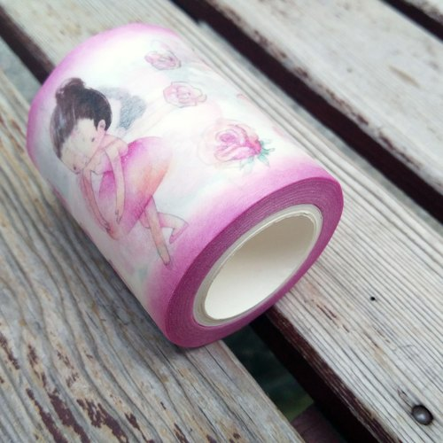 {139} Ballet girls,Masking tape