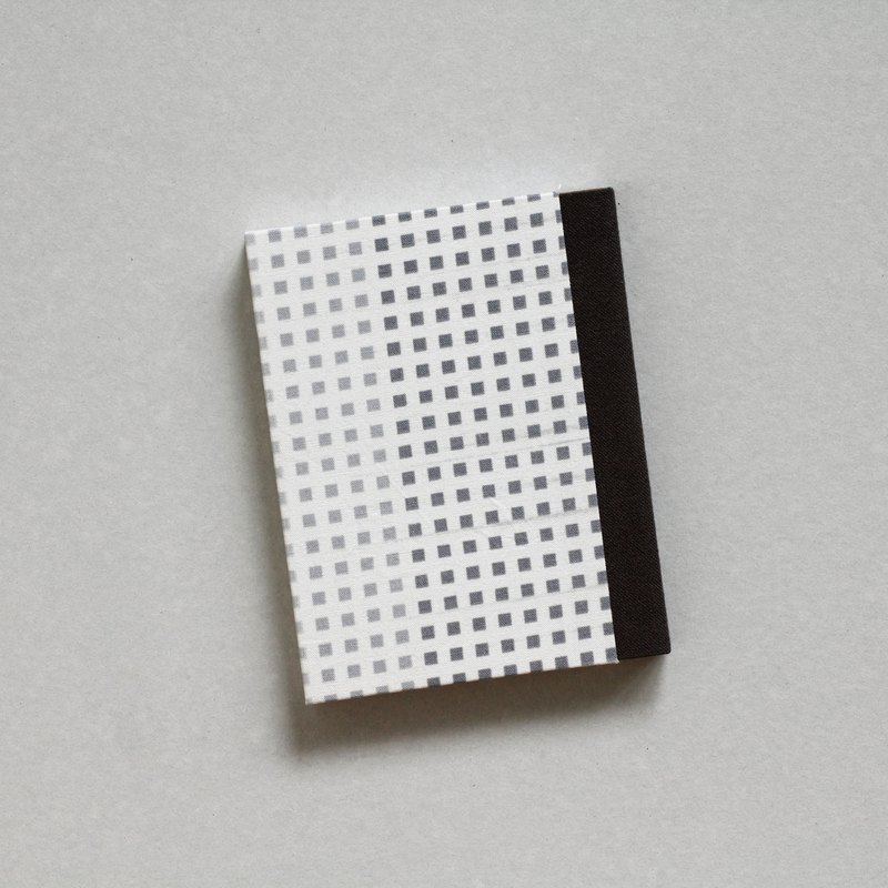 Handmade Notebook - Small Square Pattern Covers, Light