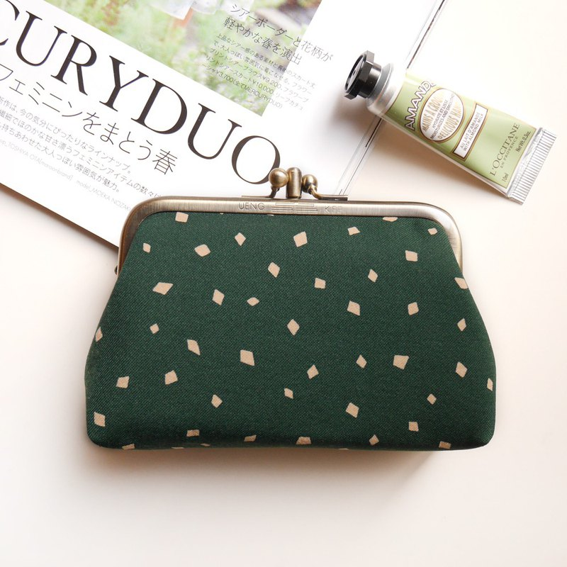 Matcha Coco Two Coin Purse / Gold Bag [Made in Taiwan]