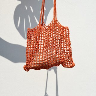 Orange Nagridia Crochet Bag