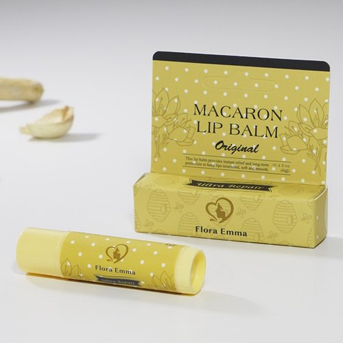 Natural Macaron Lip Balm - classic very moist