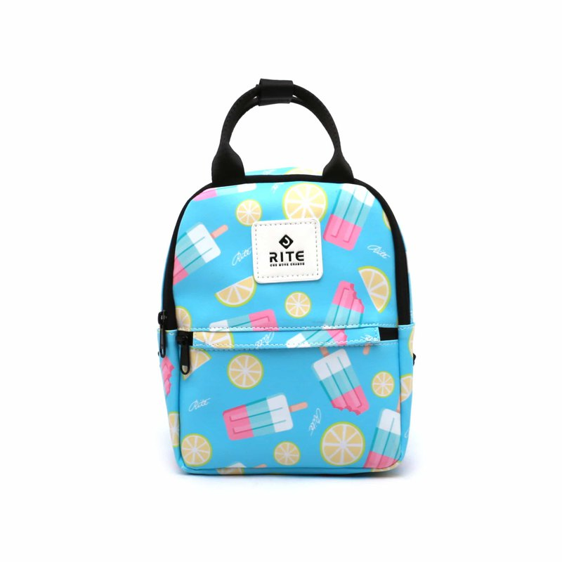 [RITE] Le Tour Series - Dual-use Mini Backpack - Lemon Ice Blue