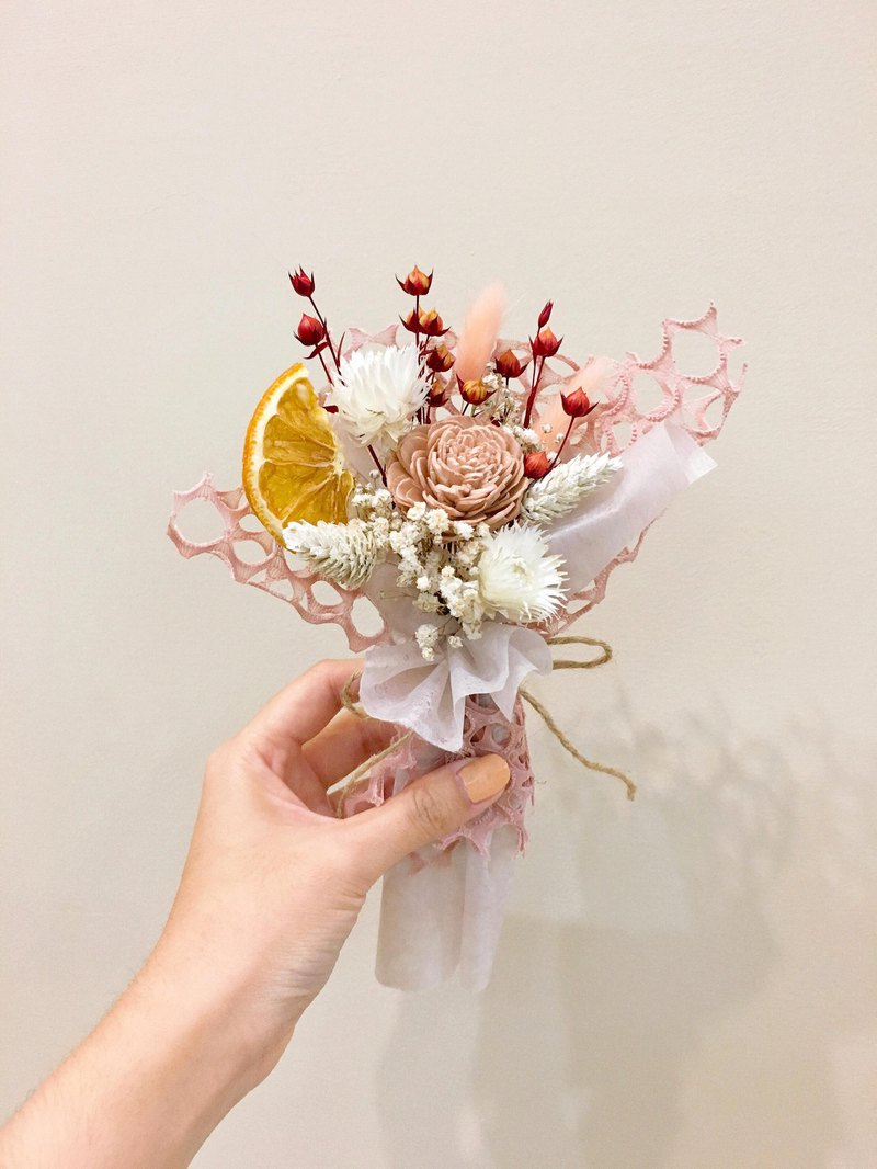 [Beginning day] small bouquet dry bouquet Valentine's Day bouquet birthday gift Tanabata bouquet