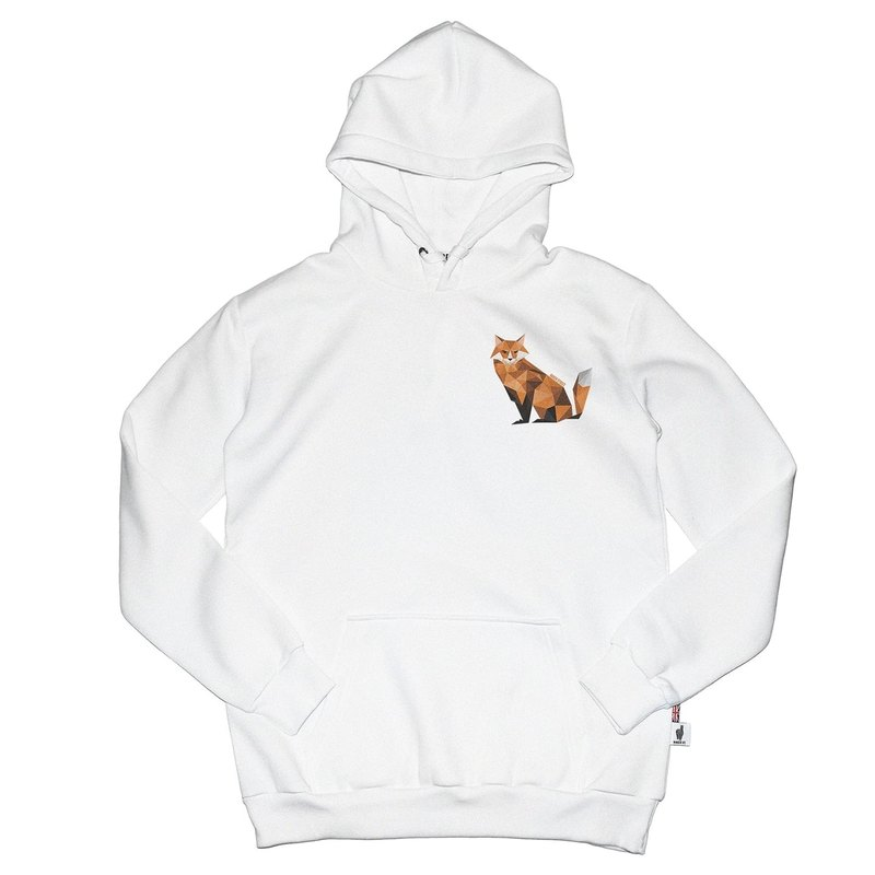 British Fashion Brand -Baker Street- Little Fox Printed Hoodie