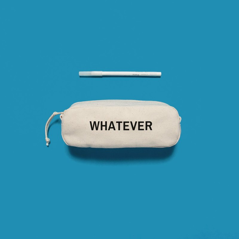 Custom made English French, Japanese and Korean 8 font design gift interesting - Rounded three-dimensional pencil case (OS)