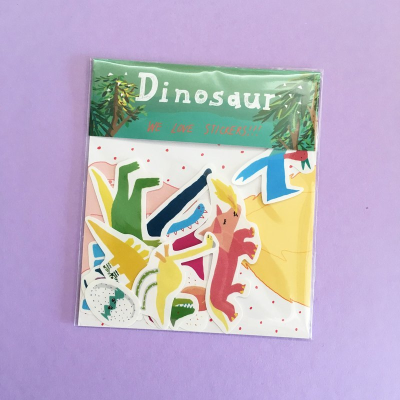 Dinosaur | Sticker Pack(10 in)