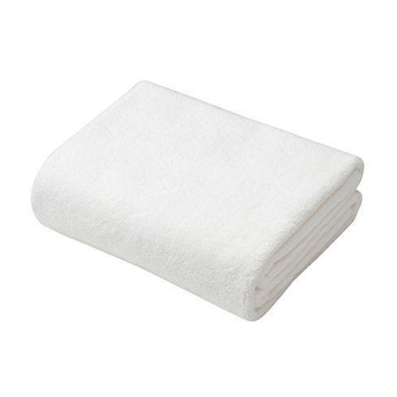 CB Japan bubble gum super soft series microfiber 3 times absorbent towel elegant white