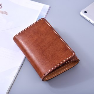 Tree Balm 3 Fold Brown Short Clamp/ Wallet/ Wallet