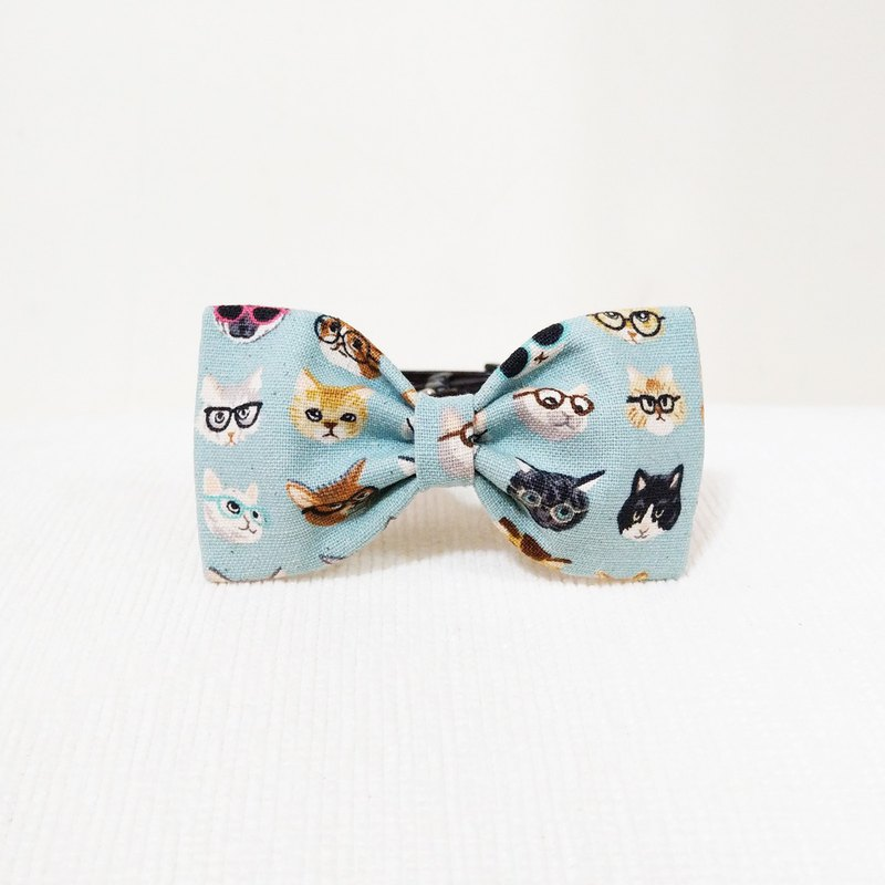 Ella Wang Design Bowtie Pet Bow Tie Bow Cat Dog Powder Blue