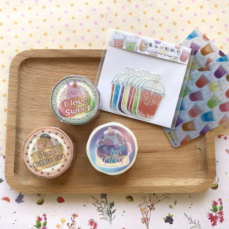 Cream Soda Land Sweet Feast and Paper Tape Set (Special Package)