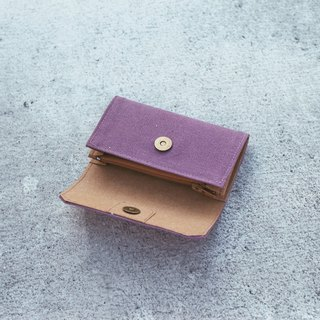 Handmade Canvas Purse-purple