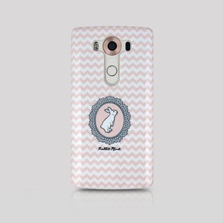 (Rabbit Mint) mint Phone Case Rabbit - Rabbit Portrait Series - LG V10 (00080)