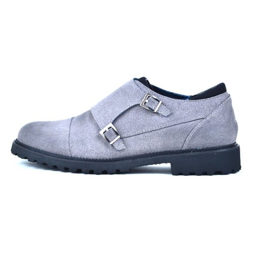 [DOGYBALL simple life] classic British Mengke shoes environmental concept casual shoes - gray