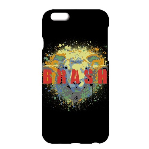 [iPhone ケース] brash / black