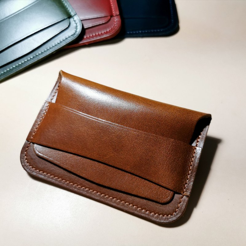 Coin Pouch Oil Pull Up Leather (Tan)